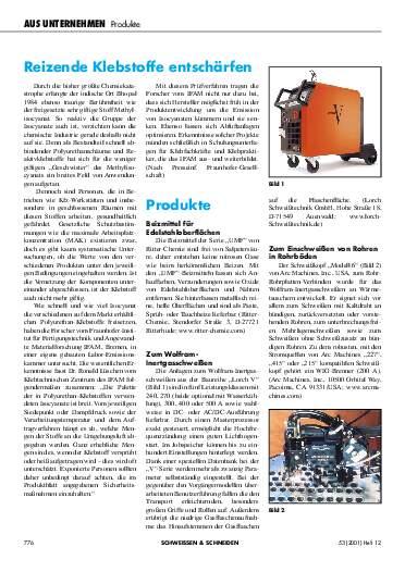 Ausgabe 12 (2001) Seite 776