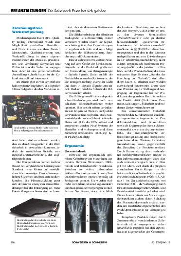 Ausgabe 12 (2001) Seite 804