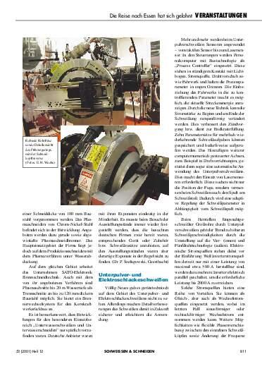 Ausgabe 12 (2001) Seite 811