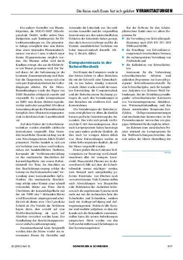 Ausgabe 12 (2001) Seite 819
