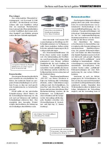 Ausgabe 12 (2001) Seite 833