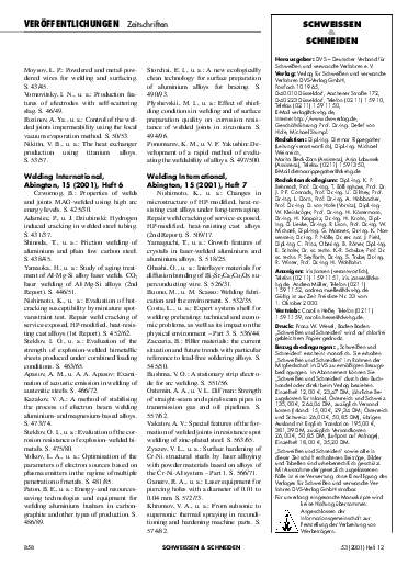 Ausgabe 12 (2001) Seite 858