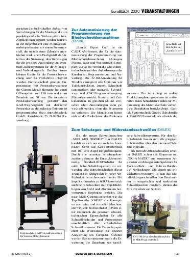 Ausgabe 2 (2001) Seite 105
