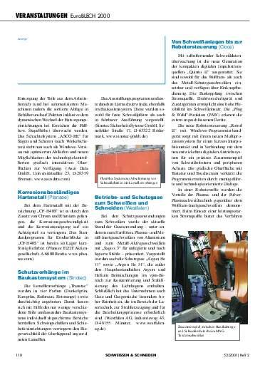 Ausgabe 2 (2001) Seite 110