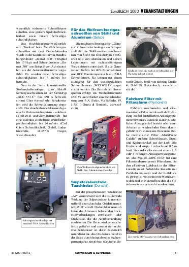 Ausgabe 2 (2001) Seite 111
