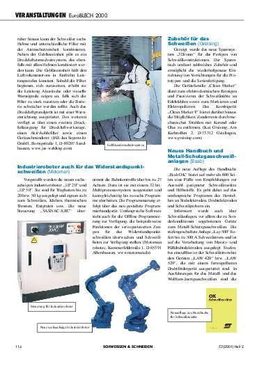 Ausgabe 2 (2001) Seite 114