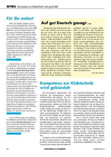 Ausgabe 2 (2001) Seite 68