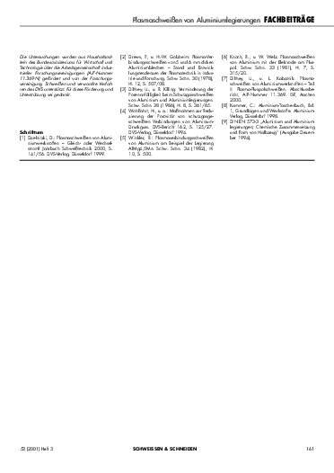 Ausgabe 3 (2001) Seite 161