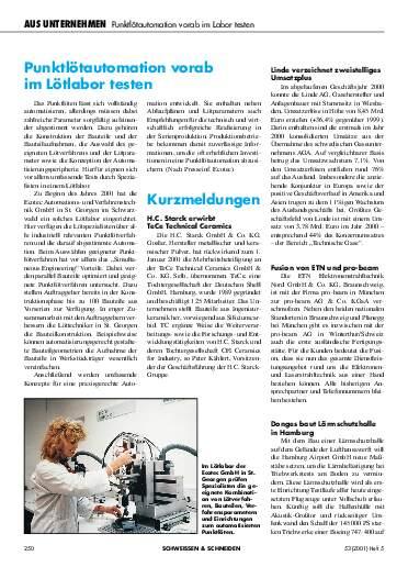 Ausgabe 5 (2001) Seite 250