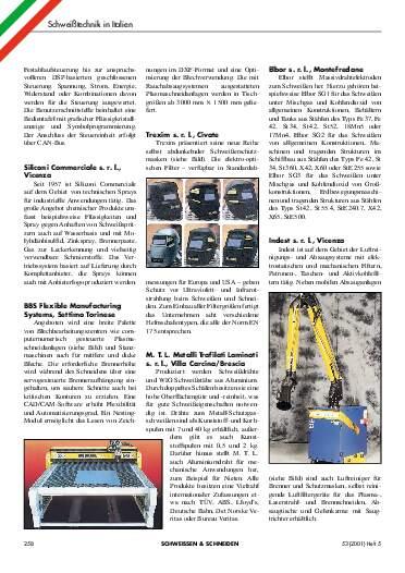 Ausgabe 5 (2001) Seite 258