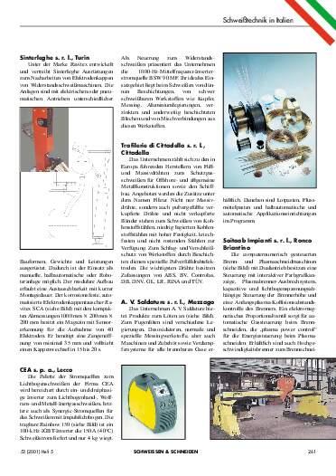 Ausgabe 5 (2001) Seite 261