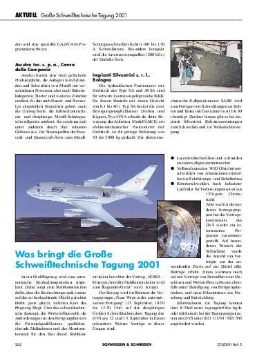 Ausgabe 5 (2001) Seite 262