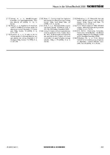 Ausgabe 5 (2001) Seite 305