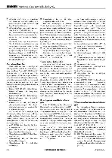 Ausgabe 5 (2001) Seite 310