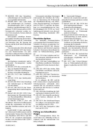 Ausgabe 5 (2001) Seite 311