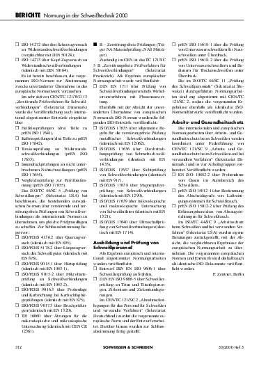 Ausgabe 5 (2001) Seite 312