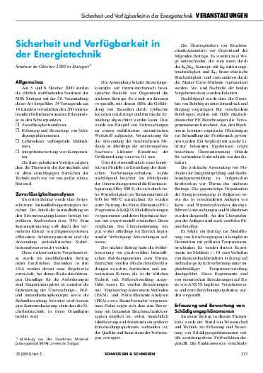 Ausgabe 5 (2001) Seite 313