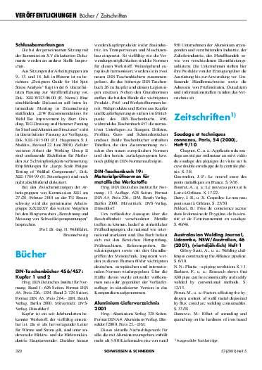 Ausgabe 5 (2001) Seite 320