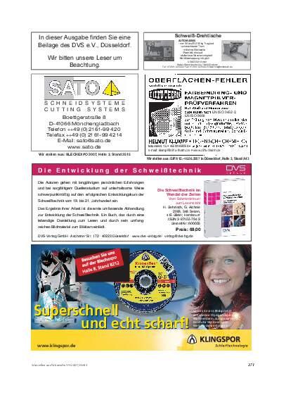 Ausgabe 5 (2007) Seite 271