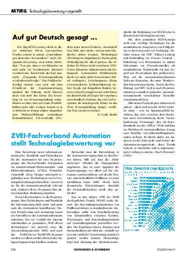Ausgabe 9 (2001) Seite 538