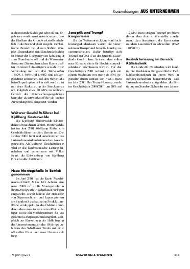Ausgabe 9 (2001) Seite 545
