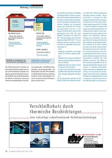 Ausgabe 1 (2008) Jahrgang 1 Seite 14