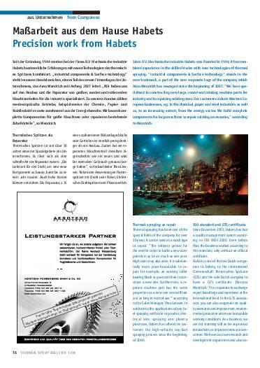 Ausgabe 1 (2008) Jahrgang 1 Page 16
