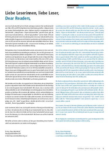 Ausgabe 1 (2008) Jahrgang 1 Page 5