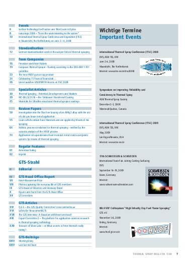 Ausgabe 1 (2008) Jahrgang 1 Page 7