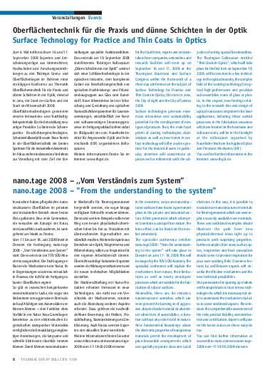 Ausgabe 1 (2008) Jahrgang 1 Page 8