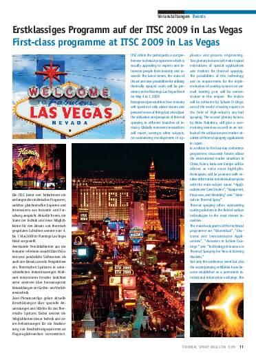 Ausgabe 1 (2009) Jahrgang 2 Page 11
