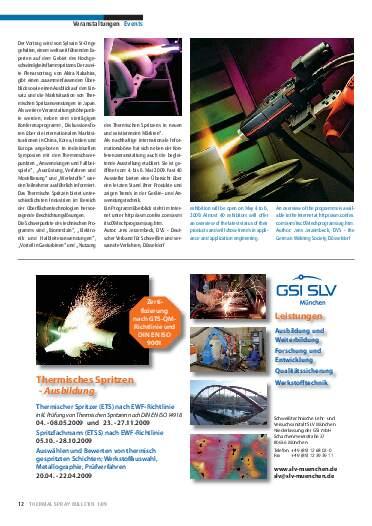 Ausgabe 1 (2009) Jahrgang 2 Page 12