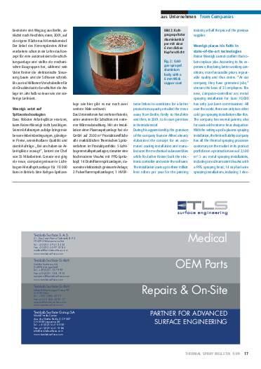 Ausgabe 1 (2009) Jahrgang 2 Page 17