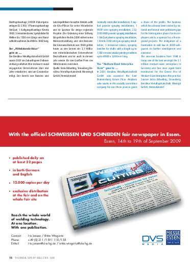 Ausgabe 1 (2009) Jahrgang 2 Seite 18