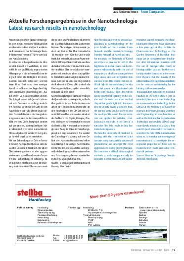 Ausgabe 1 (2009) Jahrgang 2 Page 19