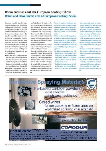Ausgabe 1 (2009) Jahrgang 2 Page 20