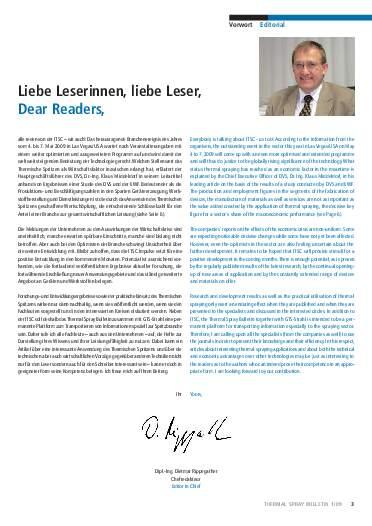 Ausgabe 1 (2009) Jahrgang 2 Seite 3