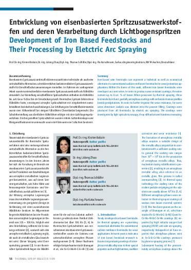 Ausgabe 1 (2009) Jahrgang 2 Page 58
