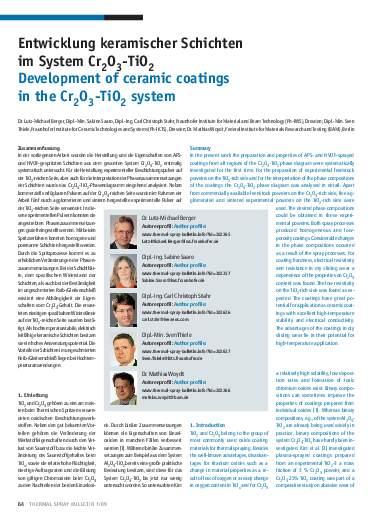 Ausgabe 1 (2009) Jahrgang 2 Seite 64