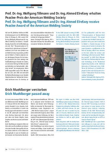 Ausgabe 1 (2010)  Jahrgang 3 Seite 10