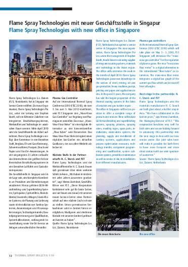 Ausgabe 1 (2010)  Jahrgang 3 Seite 12