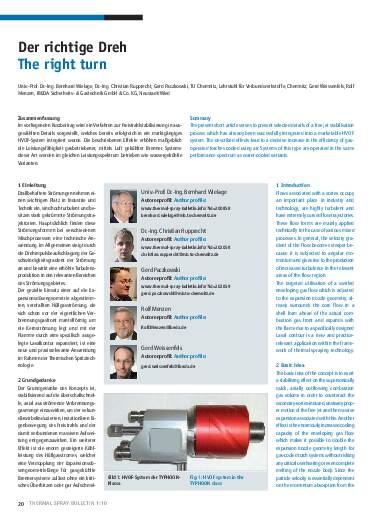 Ausgabe 1 (2010)  Jahrgang 3 Page 20
