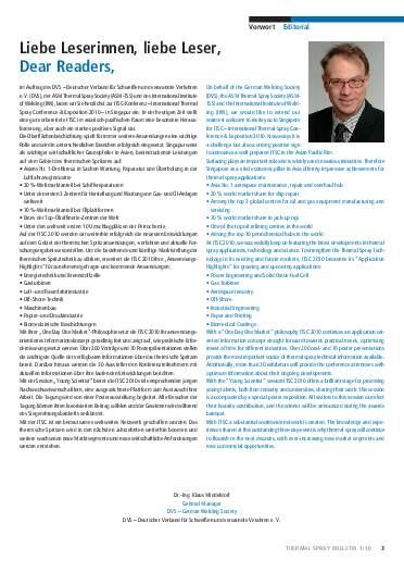 Ausgabe 1 (2010)  Jahrgang 3 Page 3