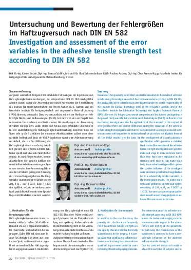 Ausgabe 1 (2010)  Jahrgang 3 Page 30
