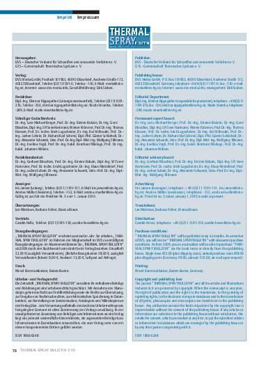 Ausgabe 1 (2010)  Jahrgang 3 Page 78