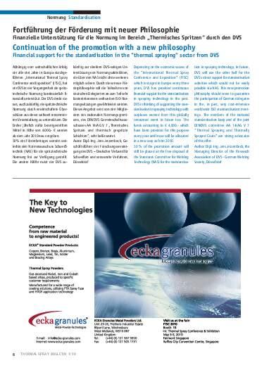 Ausgabe 1 (2010)  Jahrgang 3 Seite 8