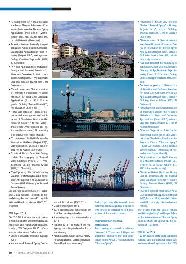 Ausgabe 01 (2011) Jahrgang 4 Seite 10
