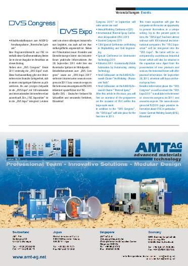 Ausgabe 01 (2011) Jahrgang 4 Seite 11