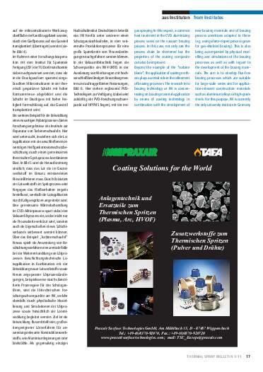 Ausgabe 01 (2011) Jahrgang 4 Seite 17