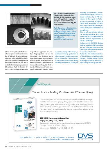 Ausgabe 01 (2011) Jahrgang 4 Seite 18